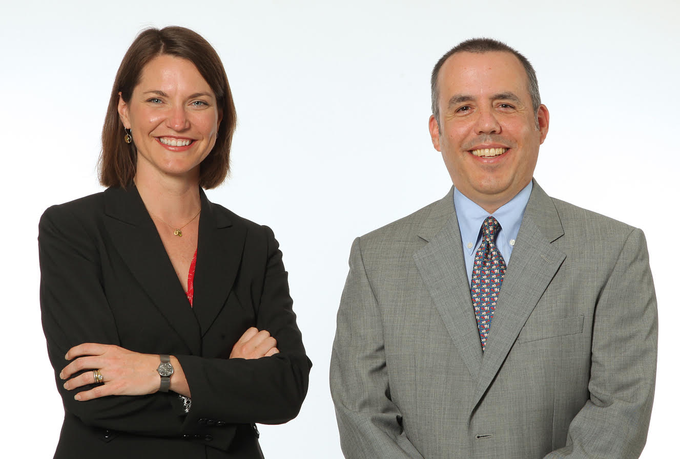 Elizabeth A. Fritzinger and David Berry at Berry & Fritzinger, P.C. in Santa Rosa, CA.